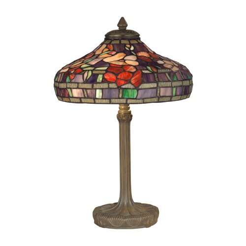 "Dale Tiffany 18.25"" H 2 Light Table Lamp"