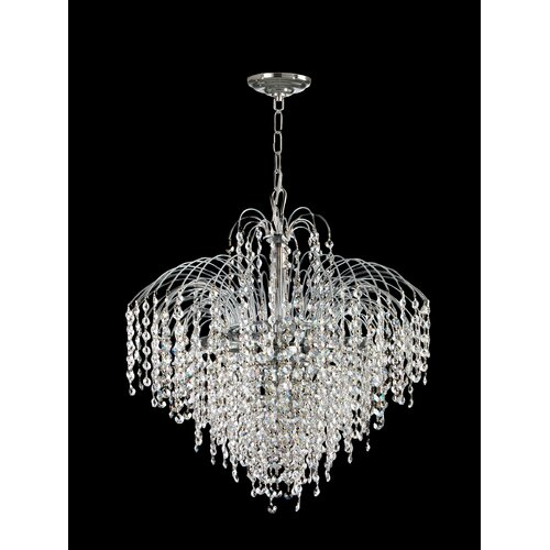 Massa 6 Light Crystal Chandelier