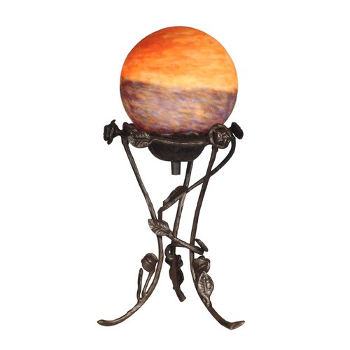 Dale Tiffany Rose with Globe 1 Light Table Lamp