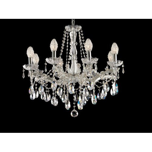 Dale Tiffany Strasbourg 8 Light Chandelier