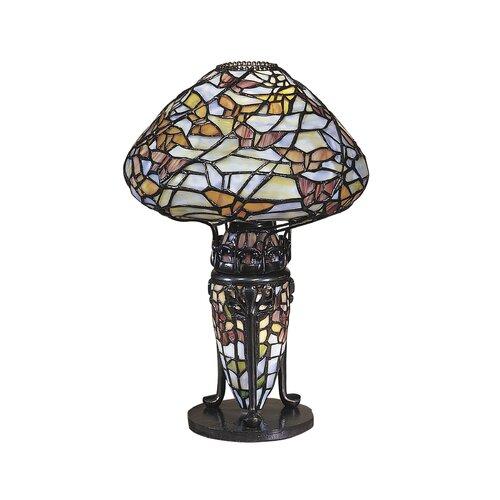 "Dale Tiffany Papillion 14"" H Table Lamp"
