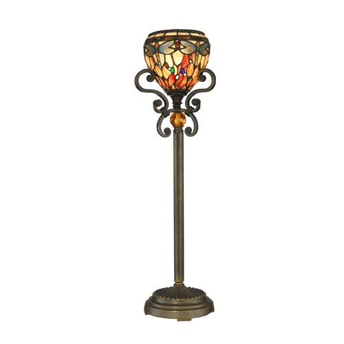 "Dale Tiffany Buffet 28.75"" H 1 Light Table Lamp"