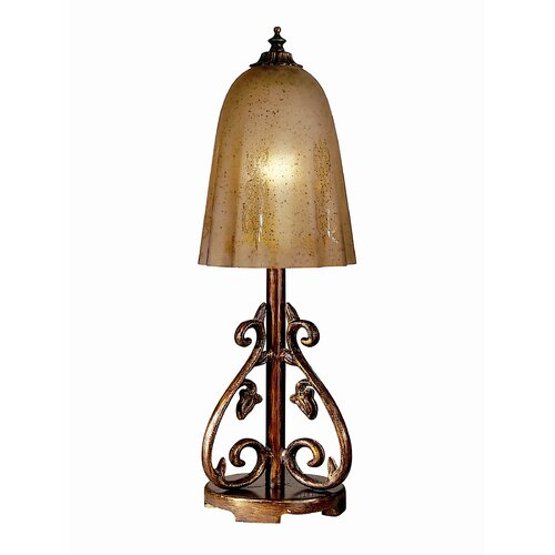 Dale Tiffany Coralie 1 Light Table Lamp