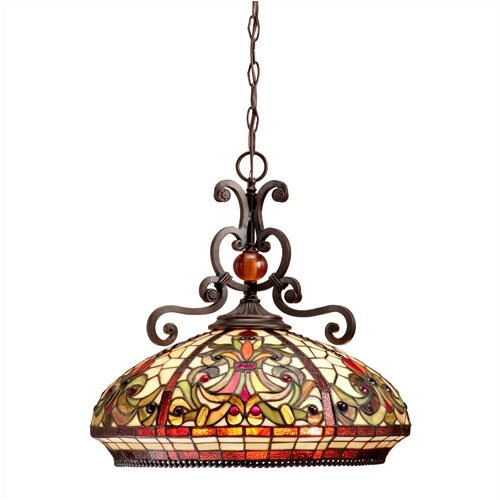 Dale Tiffany Boehme 3 Light Pendant
