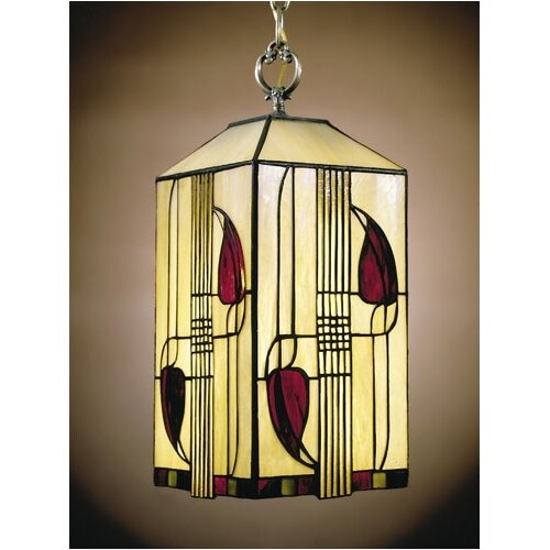 Dale Tiffany Mission 1 Light Foyer Pendant