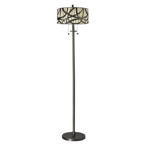 Dale Tiffany Willow Cottage 2 Light Floor Lamp