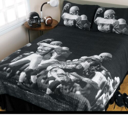 Sports Coverage Inc. Play Action 3 Piece Quilt Set