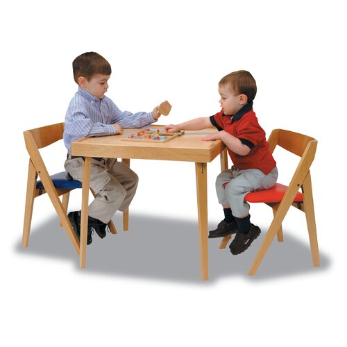 "Stakmore Company, Inc. 24"" Square Folding Table"