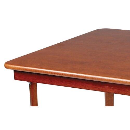 "Stakmore Company, Inc. Straight Edge Wood 32"" Folding Card Table"