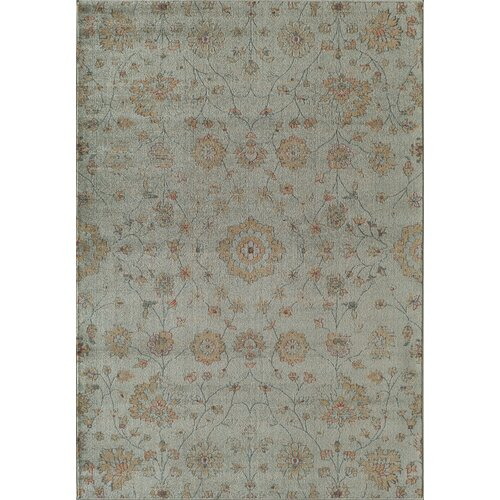 Rallye Light Blue Powder Rug