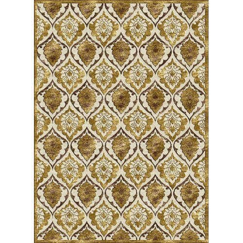 Rugs America Salerno Gold Panel Rug