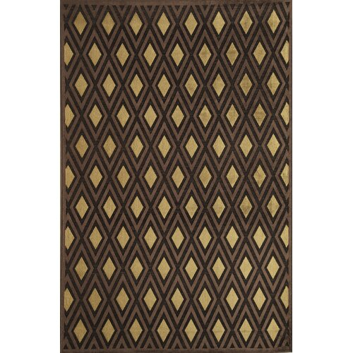 Salerno Brown Diamond Rug