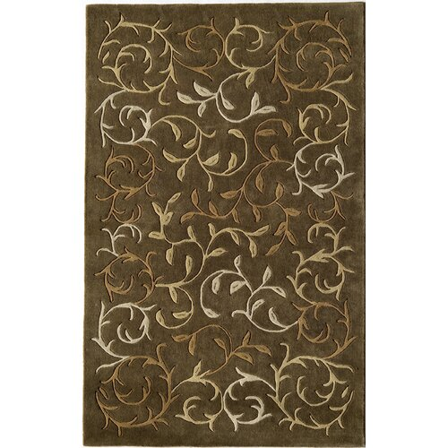 Rugs America Pacific Brown Harvest Rug