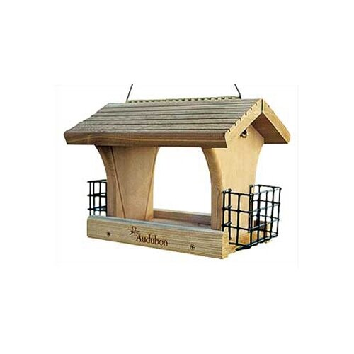 Audubon Large Ranch Suet Hopper Bird Feeder