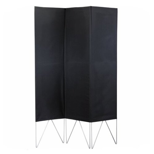 "Adesso 69"" x 52"" Vector Folding 3 Panel Room Divider"