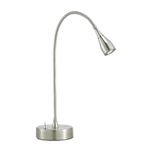 """Adesso Seek 11"""" Adjustable Table Lamp with Bell Shade"""