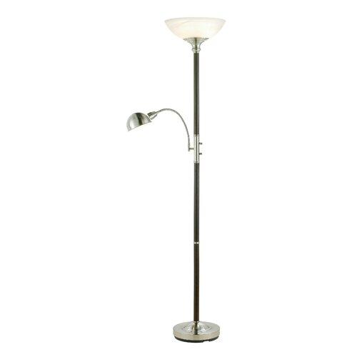 lexington torchiere floor lamp and reading light reviews wayfair. Black Bedroom Furniture Sets. Home Design Ideas