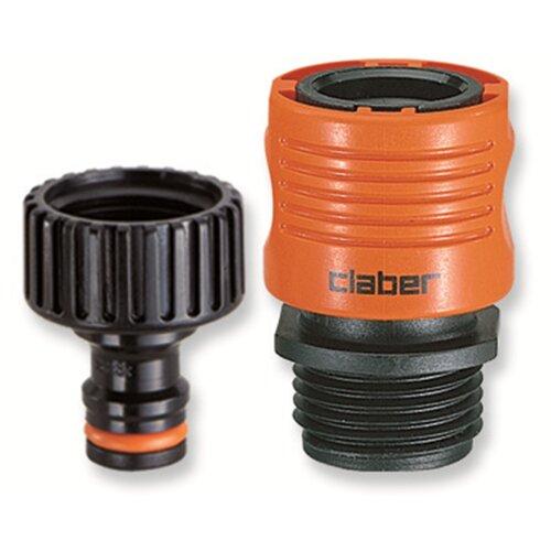 Claber Faucet-Hose Connector Set