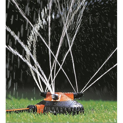 Claber 1,220-sq. ft Spray Sled Sprinkler