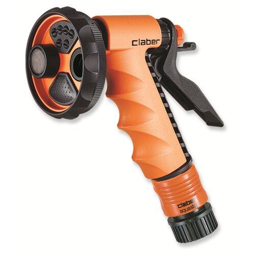 Claber Inc. 4-Pattern Ergo Garden Spray Pistol Nozzle