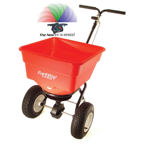 "Earthway Spreader with 10"" Wheels"