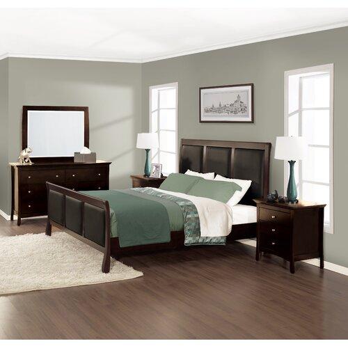 Princeton Sleigh 4 Piece Bedroom Collection