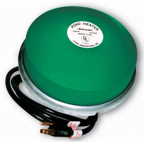 Farm Innovators 1250W Premium Cast Aluminum Floating Pond De-Icer