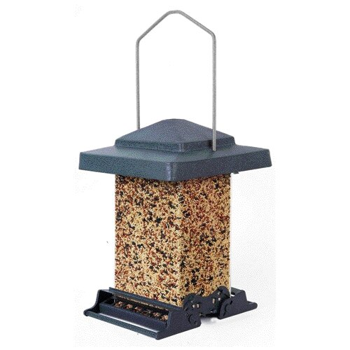 Heritage Farms Squirrel Proof Vista Hopper Bird Feeder
