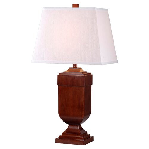 """Wildon Home ® Affiliate 30.5"""" H Table Lamp with Rectangle Shade"""