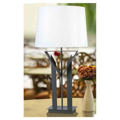 """Wildon Home ® Truro 30"""" H Table Lamp with Empire Shade"""