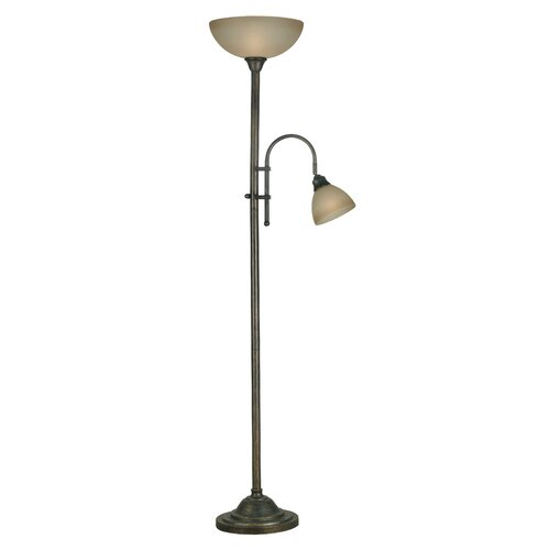 Wildon Home ® Callahan Torchiere Floor Lamp