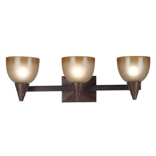 Wildon Home ® Kyoto 3 Light Vanity Light