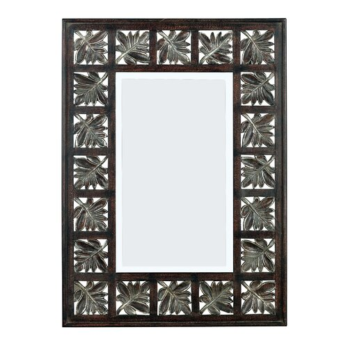 Wildon Home ® Foilage Wall Mirror
