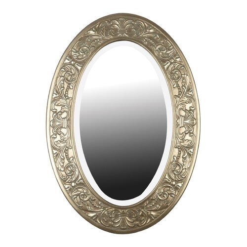 Argento Oval Wall Mirror