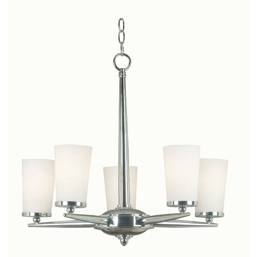 Wildon Home ® Aerial 5 Light Chandelier