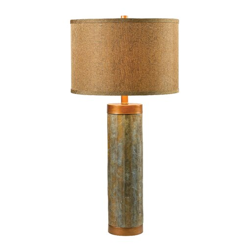 """Wildon Home ® Moore 30.38"""" H Table Lamp with Drum Shade"""