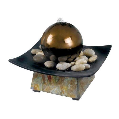 Wildon Home ® Hillsborough Sphere Indoor Table Fountain