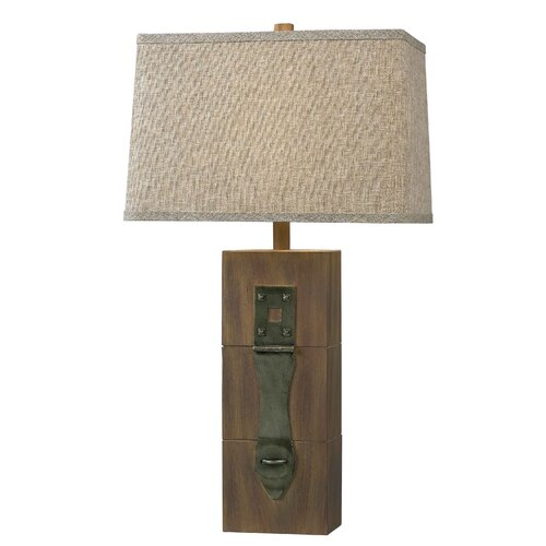 "Wildon Home ® Worcester 30"" H Table Lamp with Rectangle Shade"