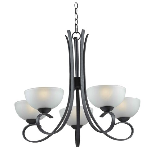 Wildon Home ® Garfield 5 Light Chandelier
