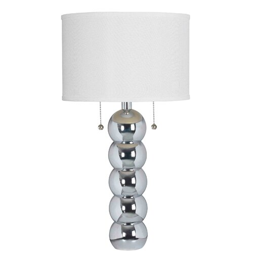 "Wildon Home ® Bolero 29"" H Table Lamp with Drum Shade"