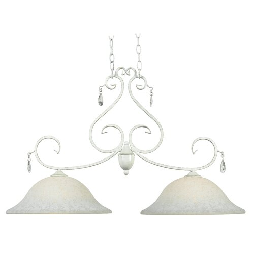 Wildon Home ® Chamberlain 2 Light Island Light