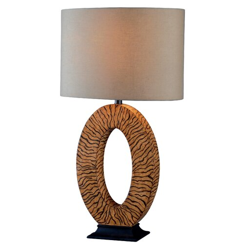 Wildon Home ® Burl Table Lamp