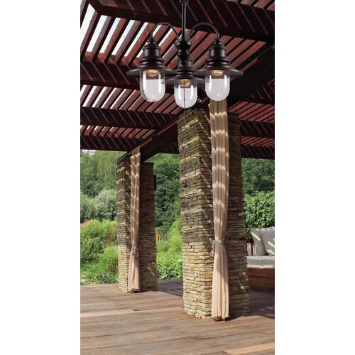 Wildon Home ® Broadcast 3 Light Chandelier