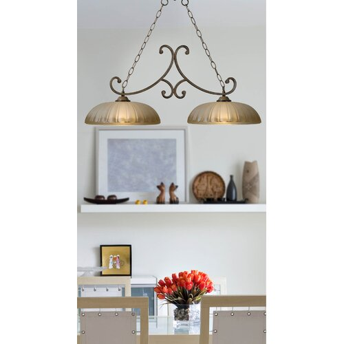 Wildon Home ® Dorset 2 Light Kitchen Island Pendant