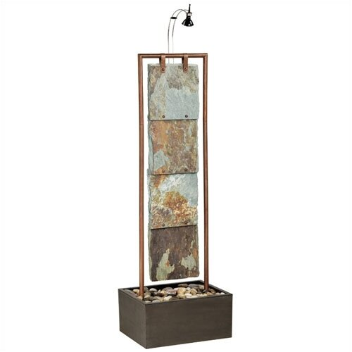 Wildon Home ® Copper Montpellier Floor Fountain