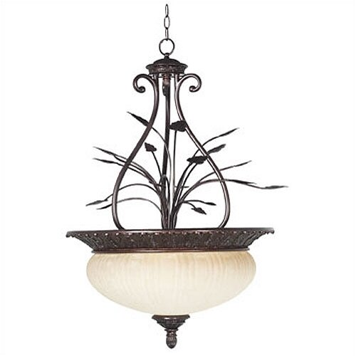 Wildon Home ® Weeks 4 Light Inverted Pendant