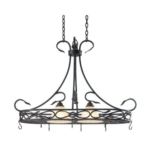 Countryside 2 Light Hanging Foyer Pendant