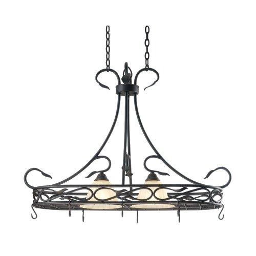 Wildon Home ® Countryside 2 Light Hanging Foyer Pendant