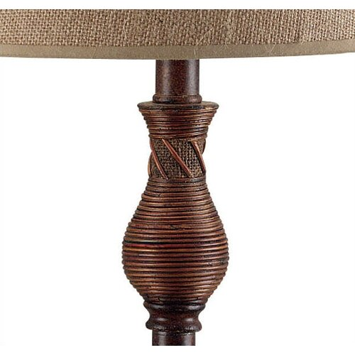 "Wildon Home ® Santiago 30.25"" H Table Lamp with Empire Shade"