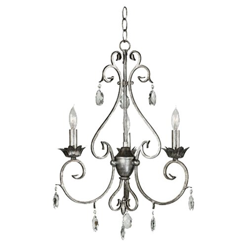 Wildon Home ® Antoinette 3  Light Chandelier